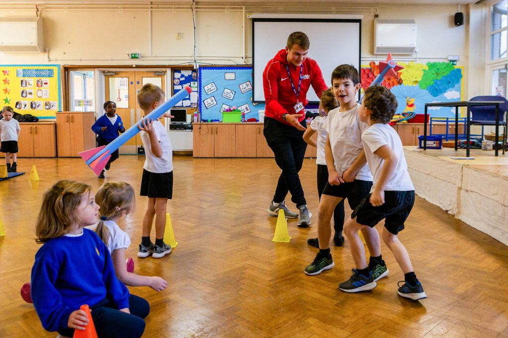 PlaySport Lunch Clubs Images | Childcare & Coaching Berkshire