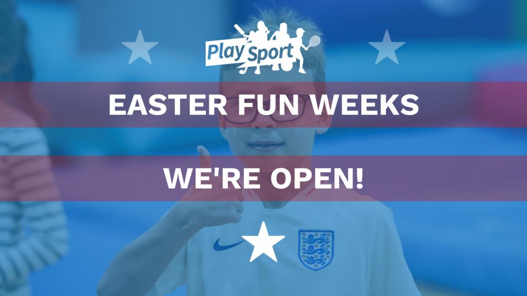 Easter We're Open TW